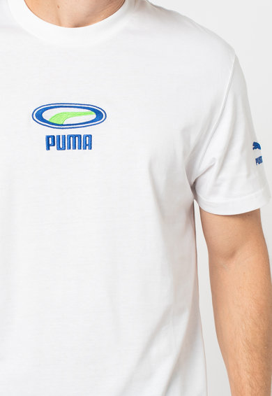 Puma Tricou cu logo brodat Barbati