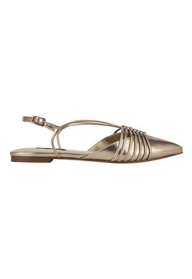 NINE WEST Заострени обувии Aida с ефект металик Жени