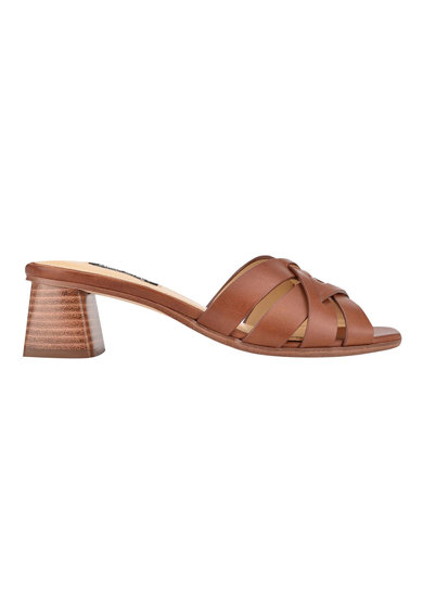 NINE WEST Кожени сандали Garnet Жени