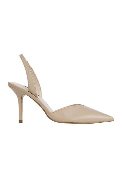 NINE WEST Кожени обувки Hello с отворена пета Жени