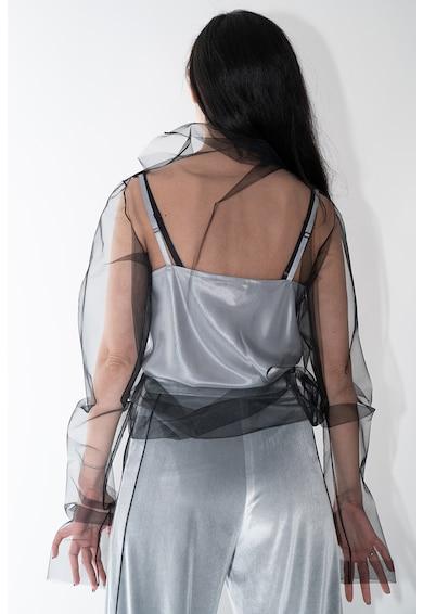 Lova By Mihaylova Bluza de plasa cu aspect transparent Femei