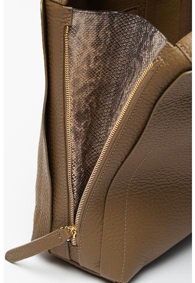Furla Geanta din piele cu bareta de umar si aplicatie logo metalica Grace Femei