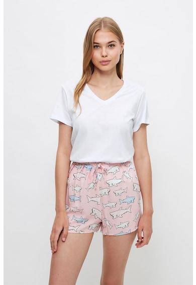 Trendyol Set de pantaloni scurti de pijama - 2 piese Femei