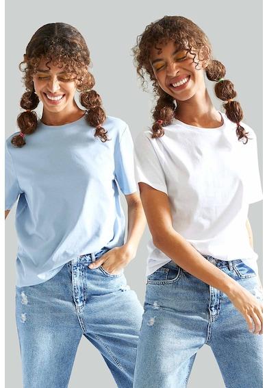 DeFacto Set de tricouri lejere din bumbac - 2 piese Femei