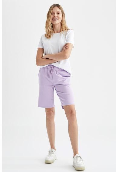 DeFacto Pantaloni scurti relaxed fit cu cordon in talie Femei