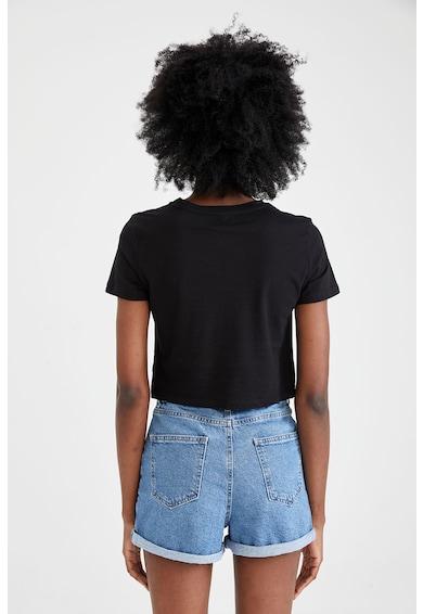 DeFacto Set de tricouri cu nod frontal - 2 piese Femei