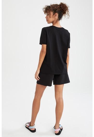 DeFacto Set de tricou si pantaloni scurti cu snur de ajustare - 2 piese Femei