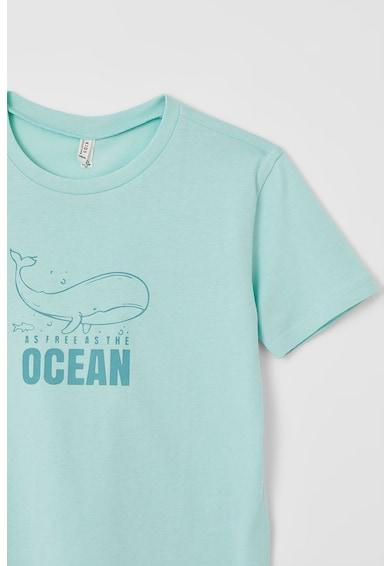 DeFacto Tricou din bumbac cu imprimeu Fete