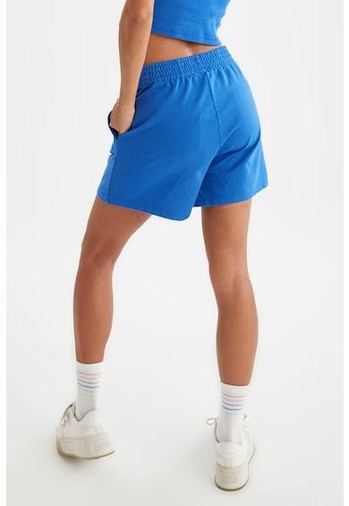 DeFacto Pantaloni scurti din jerseu cu talie inalta si imprimeu text discret Femei