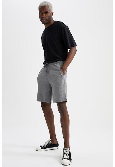 DeFacto Pantaloni scurti slim fit cu snur de ajustare in talie Barbati