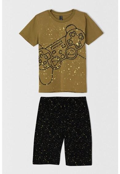DeFacto Pijama scurta regular fit cu imprimeu grafic Baieti