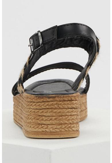 DeFacto Sandale slingback cu talpa wedge Femei
