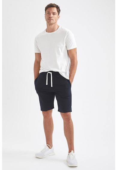 DeFacto Pantaloni scurti slim fit cu model uni Barbati