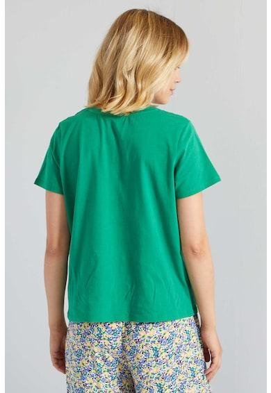 KIABI Tricou de bumbac cu perforatii Femei