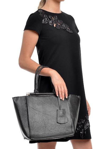 Isabella Rhea Geanta shopper din piele cu accesoriu din piele Femei