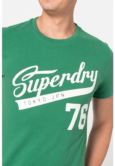 SUPERDRY Tricou slim fit cu model grafic Collegiate Barbati