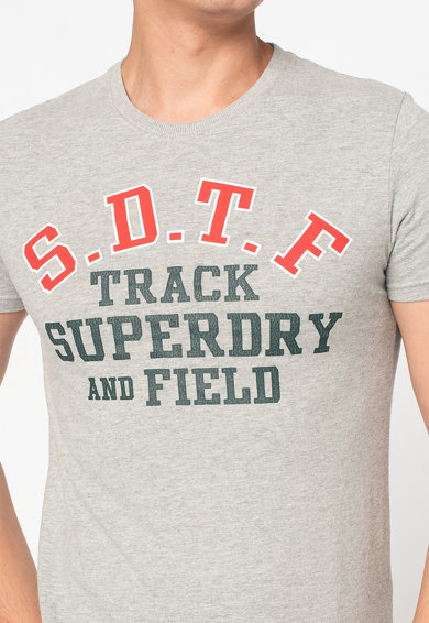 SUPERDRY Tricou slim fit cu imprimeu Track&Field Barbati