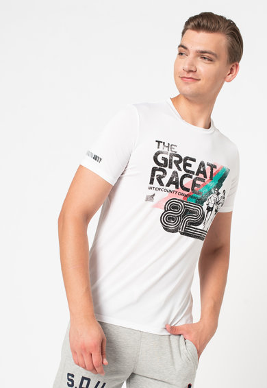 SUPERDRY Tricou relaxed fit Run Great Race Barbati