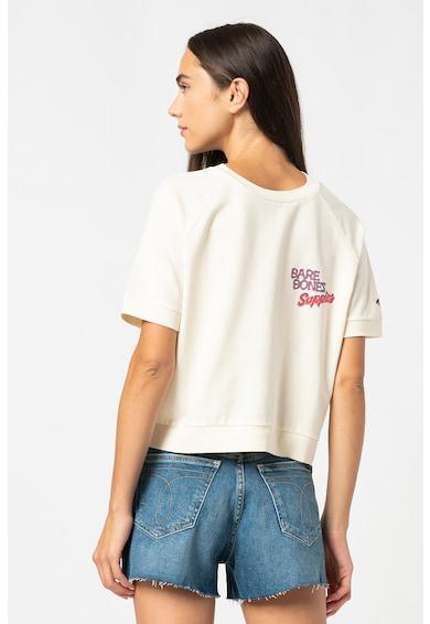 SUPERDRY Tricou crop lejer Workwear Femei