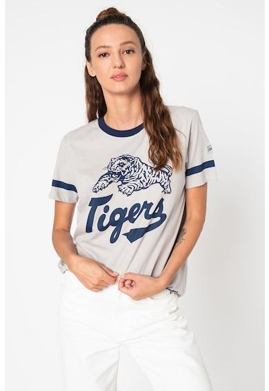SUPERDRY Collegiate Ivy feliratos lentartalmú póló női