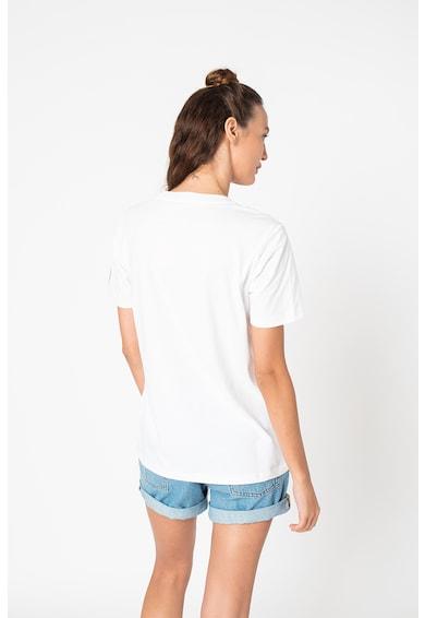 SUPERDRY Kerek nyakú normál fazonú pamutpóló női