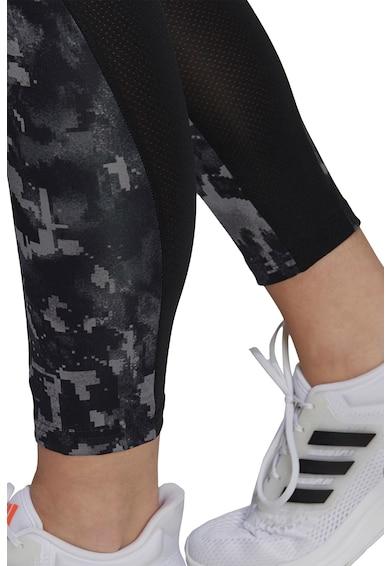 adidas Performance Colanti cu imprimeu pentru antrenament Femei