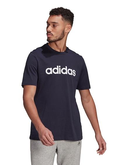 adidas Performance Tricou din bumbac cu broderie logo pe piept Essentials Barbati
