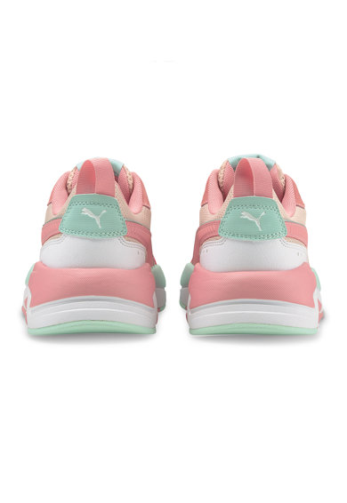 Puma Pantofi sport cu garnituri din piele ecologica X-Ray Fete