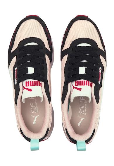 Puma Pantofi sport baieti, cu logo, R78 Jr Fete