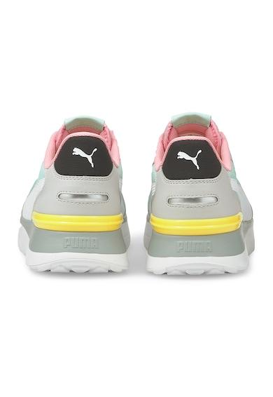 Puma Pantofi sport cu garnituri din piele ecologica R78 Voyage Femei
