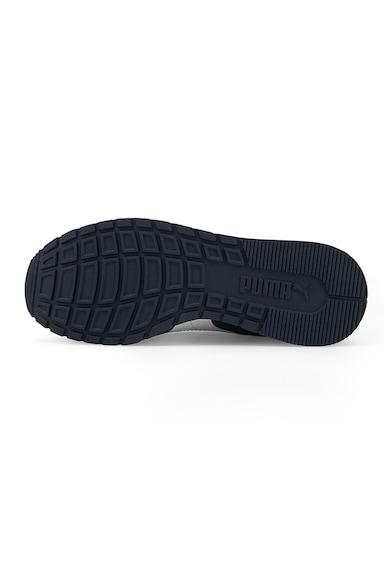 Puma Pantofi sport cu garnituri de piele ecologica ST Runner V2 Baieti