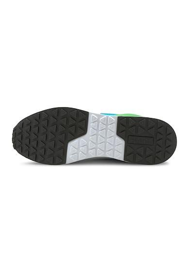 Puma Pantofi sport low-top cu garnituri din piele ecologica si logo R78 Futr Barbati