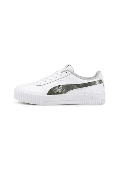 Puma Pantofi sport cu insertii din piele Carina Femei
