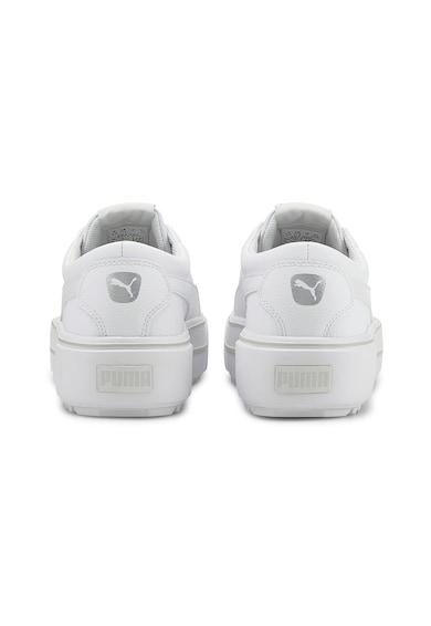 Puma Pantofi sport din piele cu talpa cu striatii Kaia Femei