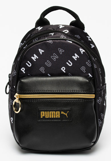 Puma Rucsac cu model logo si buzunar din piele ecologica Prime Classics Minime Femei
