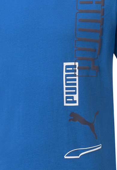 Puma Tricou de bumbac cu imprimeu logo Baieti
