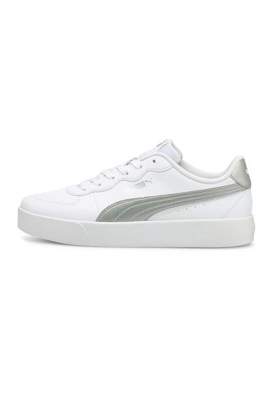 Puma Pantofi sport de piele ecologica Skye Clean Metallic Femei