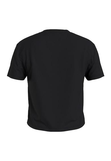 Tommy Jeans Tricou crop cu aplicatie logo pe piept Femei