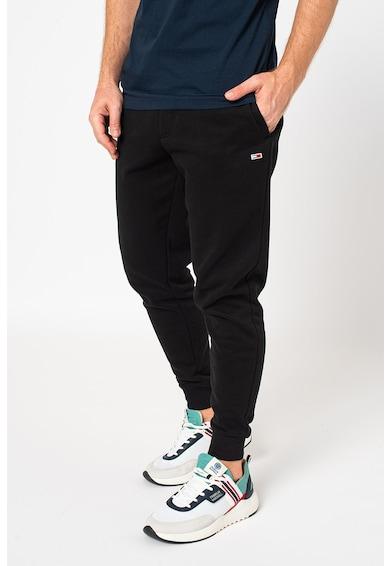 Tommy Jeans Pantaloni sport din amestec de bumbac organic Barbati