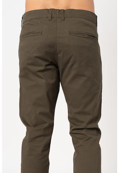 Esprit Pantaloni chino slim fit din amestec de bumbac organic Barbati