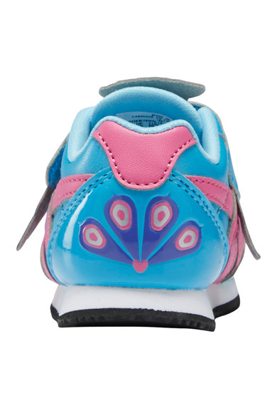 Reebok Pantofi sport cu inchidere velcro si imprimeu Fete