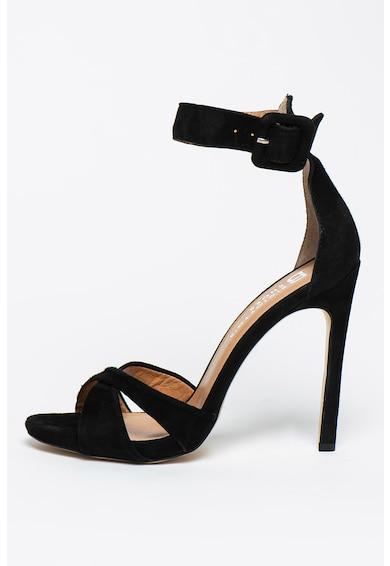 Bigiotto's Shoes Sandale de piele intoarsa cu bareta pe glezna Femei