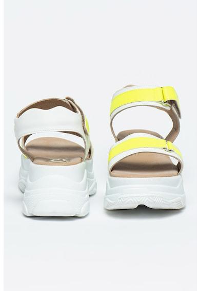 Bigiotto's Shoes Sandale masive de piele cu velcro Femei