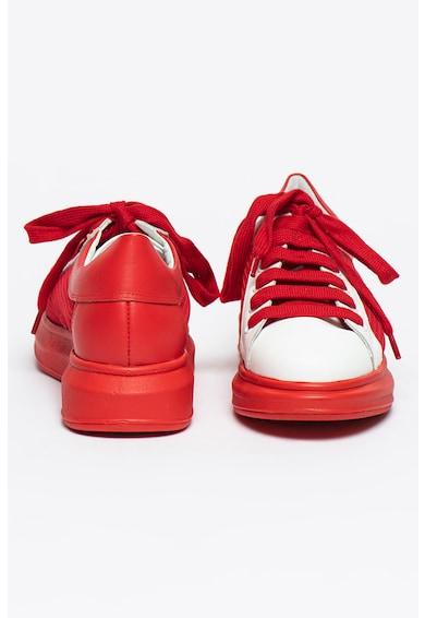 Bigiotto's Shoes Pantofi sport de piele cu insertii de plasa Femei