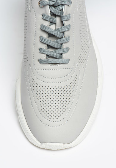 Bigiotto's Shoes Pantofi sport de piele cu perforatii Barbati