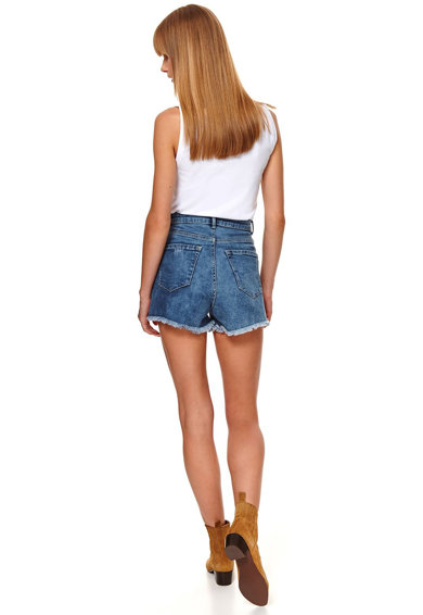 Top Secret Pantaloni scurti de denim cu terminatii franjurate Femei