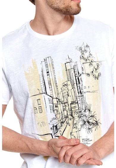 Top Secret Tricou de bumbac cu imprimeu urban Barbati