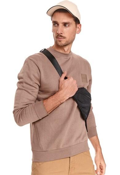 Top Secret Bluza sport cu decolteu rotund si maneci lungi Barbati