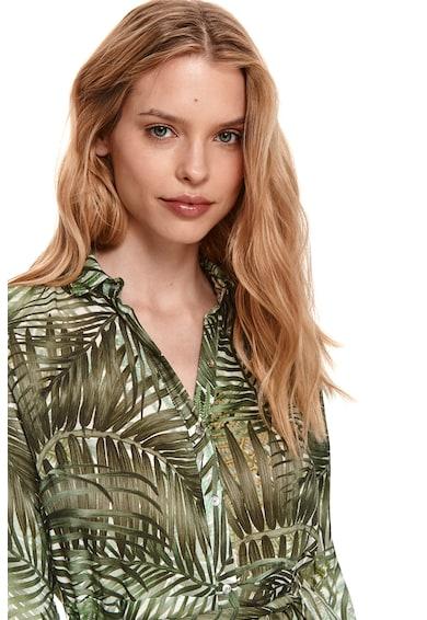 Top Secret Rochie-camasa cu imprimeu tropical Femei