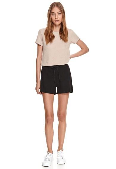 Top Secret Pantaloni scurti texturati cu talie elastica Femei